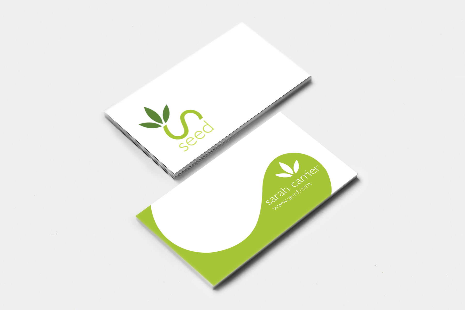 seed business card design